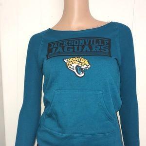 Little girls Jacksonville jaguars longsleeve shirt